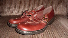 Women's NATURALIZER Brown Mary Jane Loafers Flats Shoes 10M Double Strap