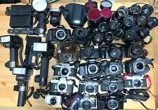 A Lot of Cameras & Parts / Canon,Minolta,Sigma,National,Fujica,Olympus / Japan