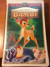 Bambi (VHS CLAMSHELL) 55th Anniversary Limited Edition