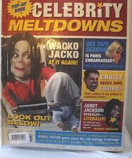 Book. Collectible. Celebrities meltdown. Pop-up book. 2006 NEW.SEALED