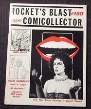 1979 Rocket's Blast ComiCollector RBCC #150 FANZINE FN+ 6.5 Rocky Horror