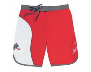 SeaDoo Womens Lilypad Board Shorts Size 28 Red Grey White IN STOCK 2856853630