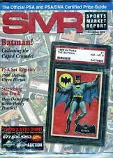New listing NOVEMBER 2009 BATMAN COVER SMR PSA SPORTS MARKET REPORT PRICE GUIDE  MINT