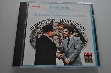 Beethoven-Rubinstein, Barenboim, Londra Phil. Orch. - RED SEAL CD RARE 1984