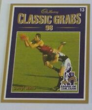 1999 Select Cadbury Classic grabs card #13 Darryl White - Brisbane Lions