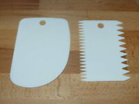 Kesselschaber Kunststoff-Teigschaber Farbe Elfenbein 200 x 150 mm