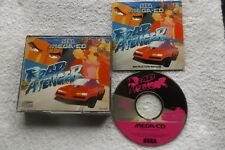 ROAD AVENGER SEGA MEGA-CD V.G.C. FAST POST ( racing & action/adventure game )