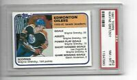 1981-82 Topps #52 Wayne Gretzky PSA 8 NM-MT Edmonton Oilers Hockey Card