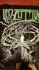 Led Zeppelin 1992 Zoso Wizard vintage licensed all-over t-shirt Lg Brand New