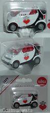 Siku 1499 Smart fortwo Cabrio, Ein Herz für Kinder, Modell 2000-2002, ca. 1:50