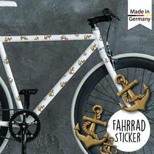 Fahrradaufkleber 37 Anker Maritim Fahrrad Sticker Fahrraddesign Aufkleber Junge