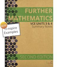 2018 Further Mathematics Units 3&4 Summary Notes - SECOND EDITION with TI-nspire