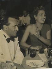 Camillo Gaspari & Kiki Parisi  Vintage silver print Tirage argentique  20x25
