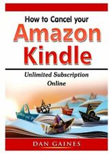 How To Cancel  Kindle Unlimited Subscription Online