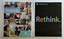 Apple Computer Posters Rethink The Possibilities 2006 Set of 2