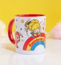 Official Rainbow Brite And Sprites Red Handle Mug