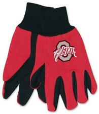 Ohio State Buckeyes Two Tone Gloves - Adult Size [NEW] NCAA Work Glove Cold