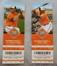 2017 Baltimore Orioles Ticket Stub Pick One - unused Season Ticket