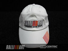 *NEW* RALLIART Australia Genuine Hat / Cap Flexi Fit - WHITE
