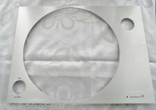 SUB CHASSIS TOP PLATE PLATINE VINYLE PLAQUE ALUMINIUM BANG&OLUFSEN BEOGRAM 3000