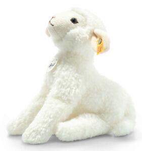 Steiff 'Hanni' Lamb - classic plush soft toy white sheep - 25cm - 103544