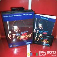 The Super Shinobi Game Cartridge for SEGA Mega Drive Japan Japanese Boxed NTSC-J