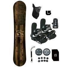 Symbolic Freedom Snowboard+Bindings Package Kid Youth Stomp+Leash+Mask+Burton 3D