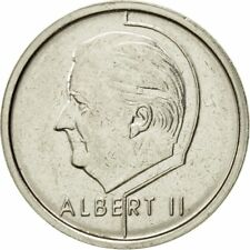 [#433124] Coin, Belgium, Albert II, Franc, 1996, Brussels, AU(55-58), Nickel