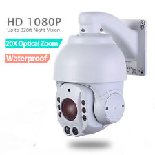 SONY CMOS 20X ZOOM HD 1080P 2.0MP Outdoor PTZ IP Speed Dome Camera 150M IR Audio