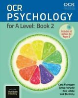 OCR Psychology for A Level: Book 2 by Cara Flanagan 9781911208198 | Brand New