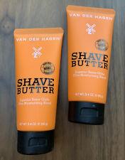2 ~ Van Der Hagen Shave Butter Shaving Cream w/ Shea Mango Cocoa Butter