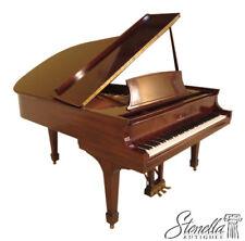 23743E: STEINWAY Model L Mahogany Baby Grand Piano ~ Overhauled by Steinway 1998