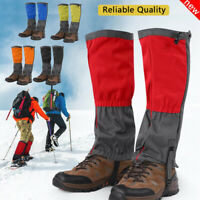 Outdoor Snow Ski Legging Gaiter Climbing Hiking Leg Shoe Cover Boot Waterproof