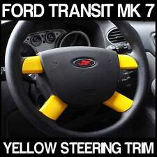 FORD Transit SPORT MK7 LTD YELLOW Steering Wheel Trim ST 2.2 TDCI SWB LWB T260