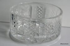 GRANDE COUPE RONDE EN CRISTAL - WATERFORD - D. 17 cm - H. 9 cm