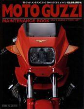 [BOOK] Moto Guzzi maintenance book OHV 2-valve V-Twin  Le Mans 850 1000 Japan