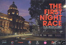 F1 Night Race Grand Prix Zo Card Paul Henri Post card