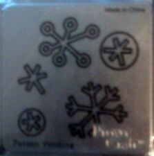 Cuttlebug Die Cutter CHRISTMAS SNOWFLAKES fits Sizzix machine