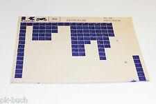 Microfiche Catalogo ricambi Kawasaki ZX 750 Modello 1983 - 1984