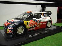 CITROËN DS3 WRC RALLYE # 2 Portugal 2011 au 1/18 NOREV 181556 voiture miniature