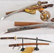 AISI1095 high carbon stee blade dragon tsuba Japanese Samurai Sword Katana SHAR