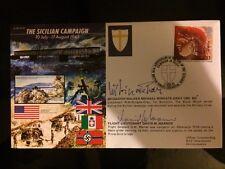 Primo giorno di coprire la campagna SICILIANA firmato 10 july-17 AGOSTO 1943 RARA do18