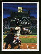 AMAZING POLO DEBUT by Bill Purdom BILL GOFF Postcard 1995 WILLIE MAYS