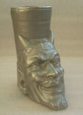 Pencil holder Mephistopheles devil figurine made in USSR vintage