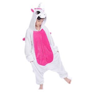 One-Piece Kid's Animal Pajamas Bathrobe Halloween Cosplay Costume Sleepwear