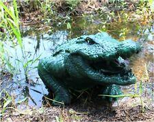 Big Alligator Crocodile Outdoor Garden Head Statue Sculpture