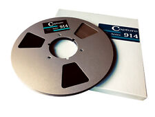 """Capture 914 Reel to Reel Tape 1/4"""" 10.5 inch NAB Spool"""