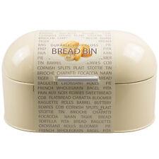 Kitchen Retro Style Dome Bread Bin Muffins Cakes Food Storage Container Cream