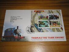 """2011 GB timbri """"Thomas The Tank Engine"""" primo giorno di copertura-BOX corsham Annulla"""