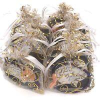 Wholesale Mardi Gras Beaded Stretch Bracelets Handmade in the USA Lot of 12 NEW